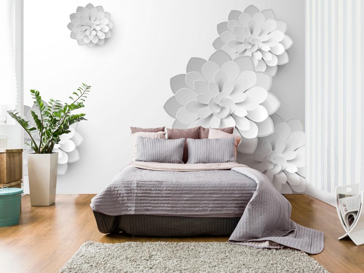 Murando DeLuxe 3D tapeta - Bílá zahrada  - zvìtšit obrázek