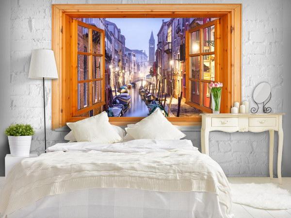 Murando DeLuxe Tapeta okno do Benátek  - zvìtšit obrázek