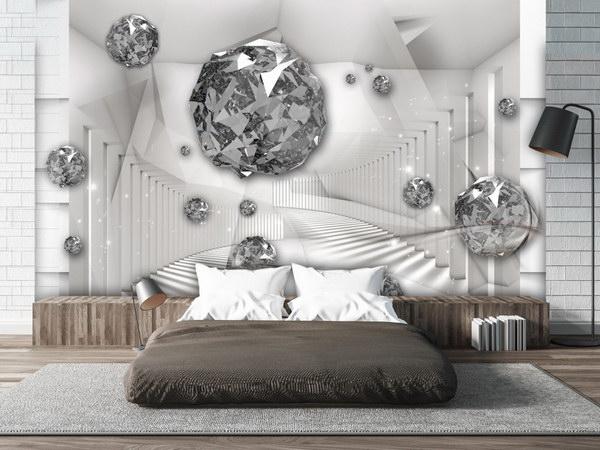 Murando DeLuxe 3D tapeta Diamantová komnata  - zvìtšit obrázek