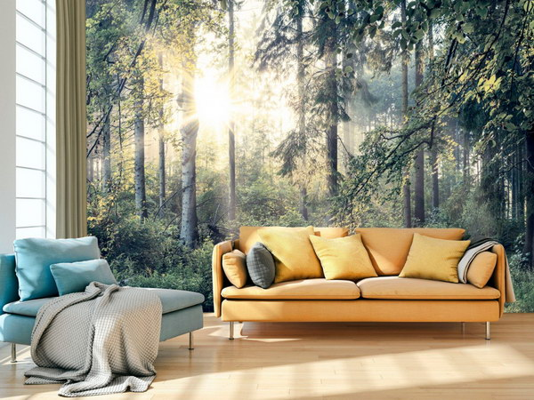 Murando DeLuxe Fototapeta lesní pohoda  - zvìtšit obrázek