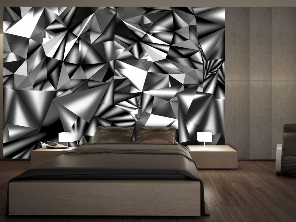 Murando DeLuxe 3D tapeta - Metalická harmonie  - zvìtšit obrázek
