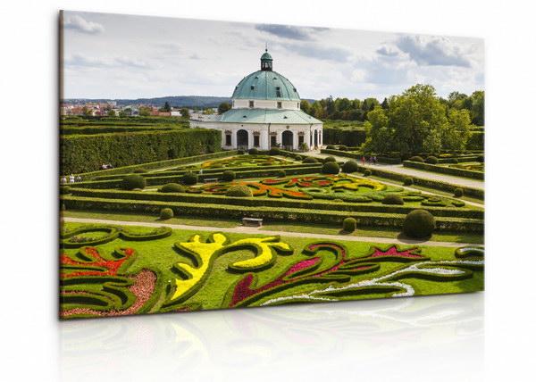 Malvis Obraz zámecké zahrady v Kromìøíži  - zvìtšit obrázek