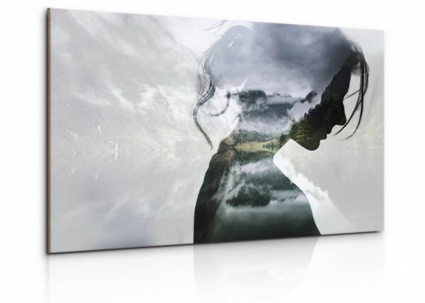 Malvis Obraz Portrét dáma v lesích  - zvìtšit obrázek