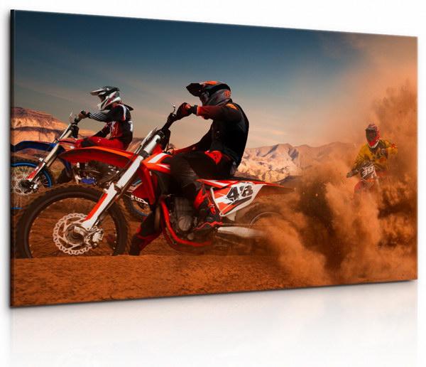 Malvis Obraz Zbìsilé motorky II  - zvìtšit obrázek