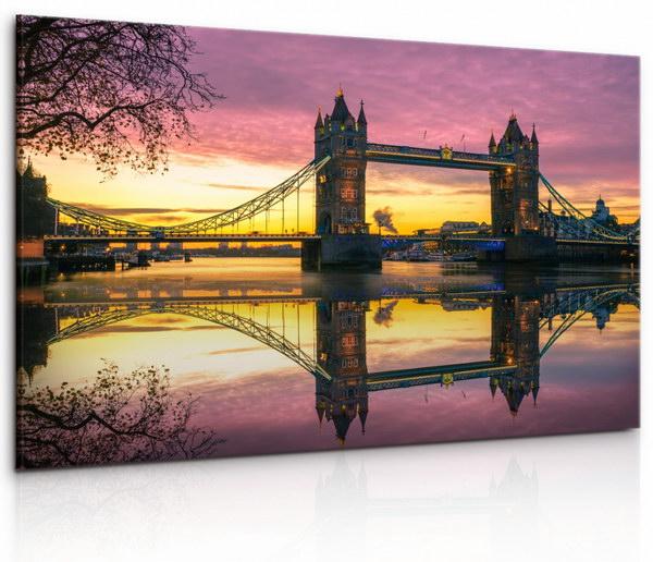 Malvis Obraz Londýnský Tower Bridge II  - zvìtšit obrázek