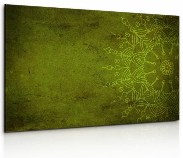 Malvis Obraz Kamenná zelená mandala  - zvìtšit obrázek