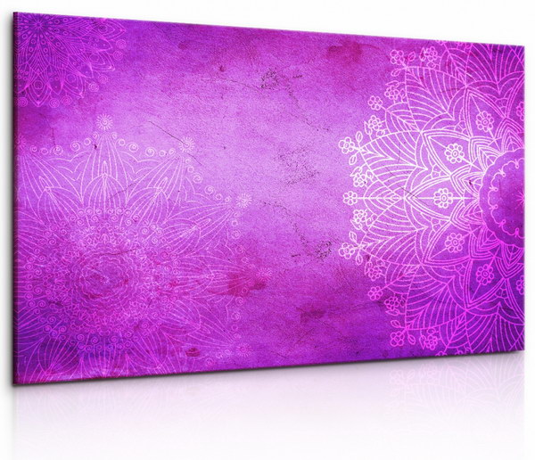 Malvis Obraz Kamenná rùžová mandala  - zvìtšit obrázek