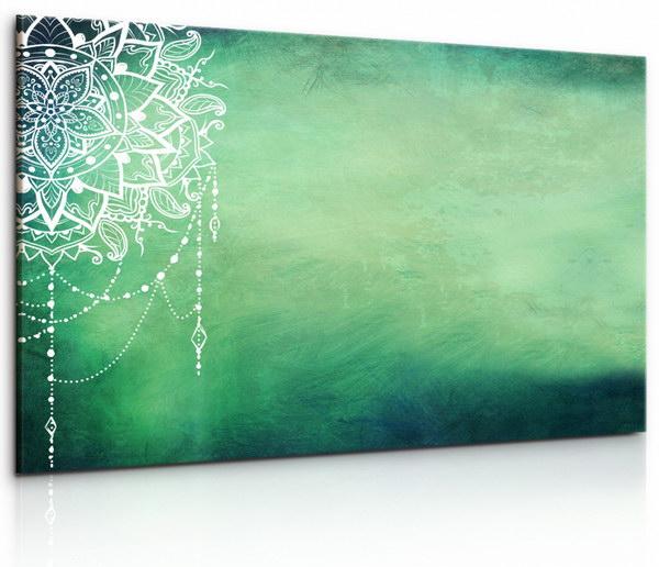 Malvis Obraz Mandala zeleného potìšení  - zvìtšit obrázek