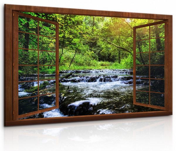 Malvis Okno do ráje lesní pohody  - zvìtšit obrázek
