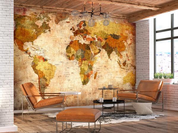 Murando DeLuxe Stará mapa svìta  - zvìtšit obrázek