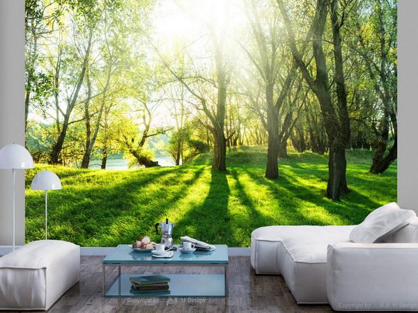 Murando DeLuxe Fototapeta Letní piknik  - zvìtšit obrázek