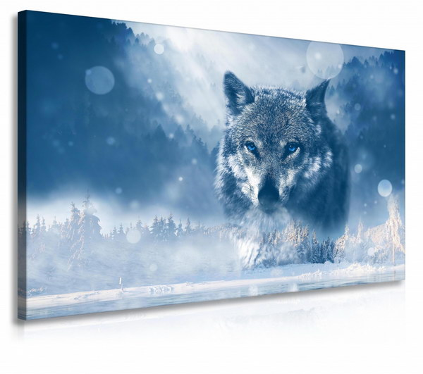 Malvis Obraz vlk v zimì  - zvìtšit obrázek