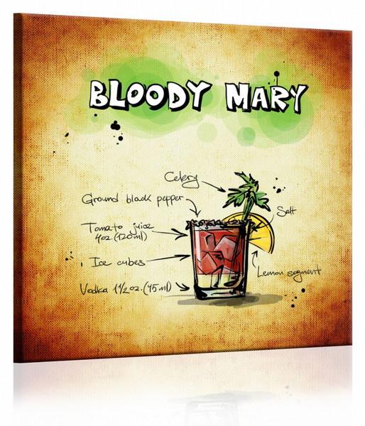 Malvis Obraz cedule Bloody Mary  - zvìtšit obrázek