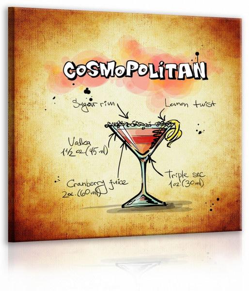 Malvis Obraz cedule Cosmopolitan  - zvìtšit obrázek