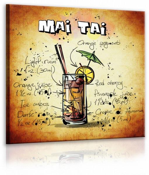 Malvis Obraz cedule Mai Tai  - zvìtšit obrázek