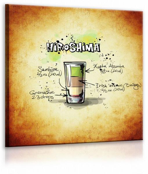 Malvis Obraz cedule Hiroshima  - zvìtšit obrázek