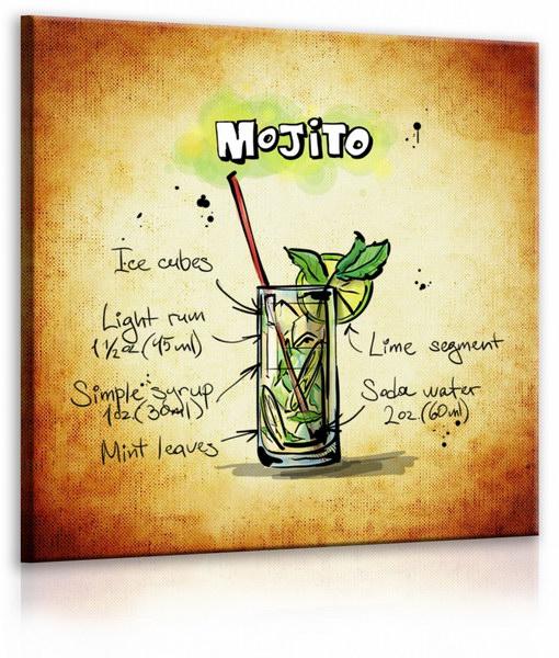Malvis Obraz cedule Mojito  - zvìtšit obrázek