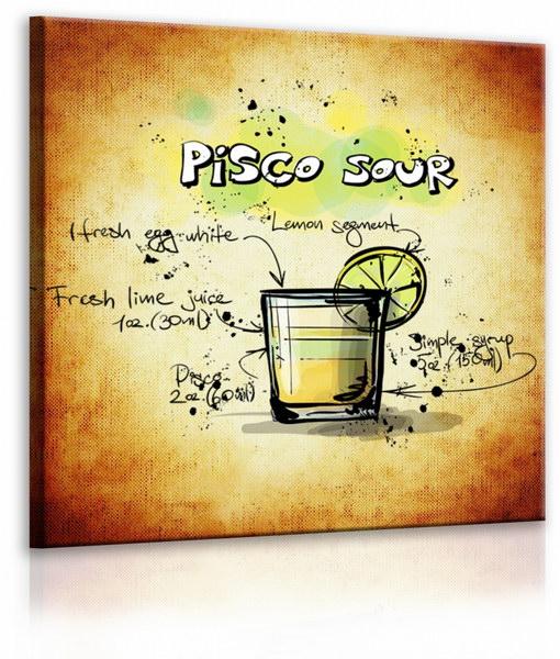 Malvis Obraz cedule Pisco Sour  - zvìtšit obrázek
