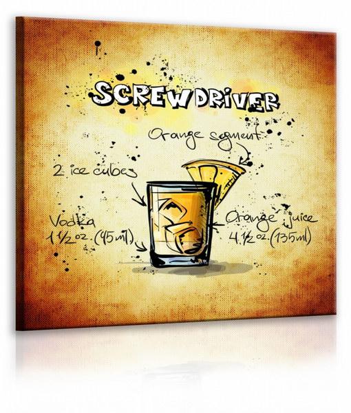 Malvis Obraz cedule Screwdriver  - zvìtšit obrázek