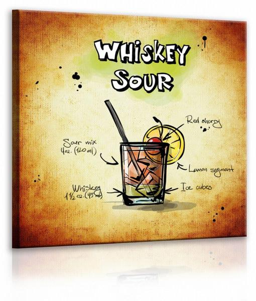 Malvis Obraz cedule Whiskey Sour  - zvìtšit obrázek