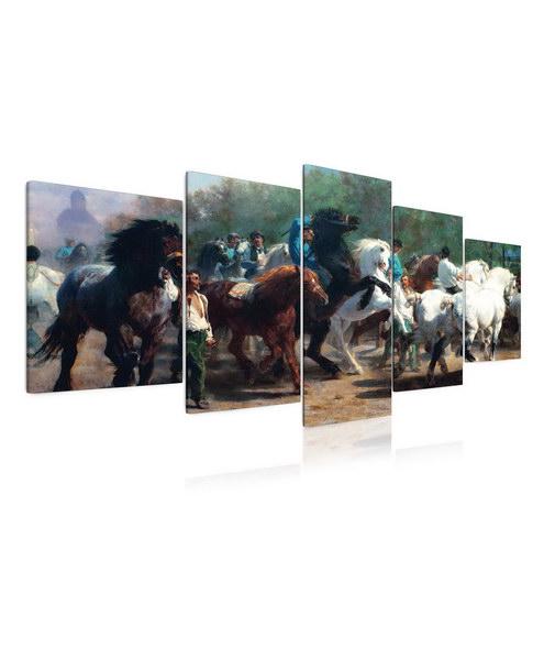 Malvis Obraz - stádo koní  - zvìtšit obrázek