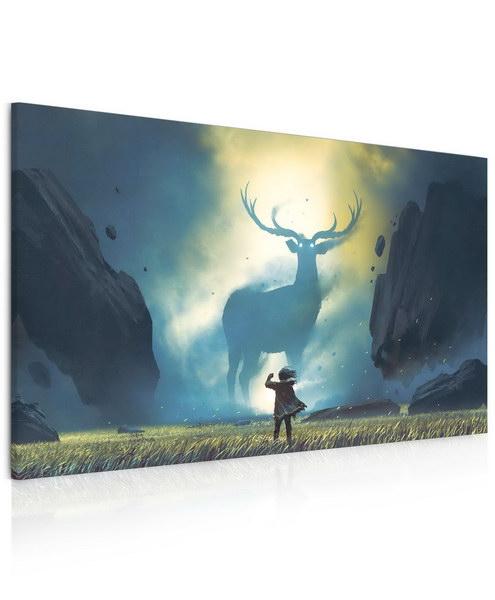 Malvis Obraz - majestátní jelen  - zvìtšit obrázek