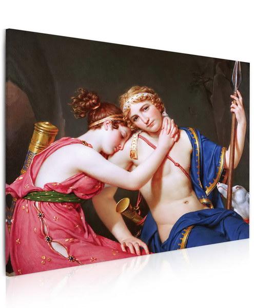 Malvis Obraz - rozlouèení ženy a muže  - zvìtšit obrázek
