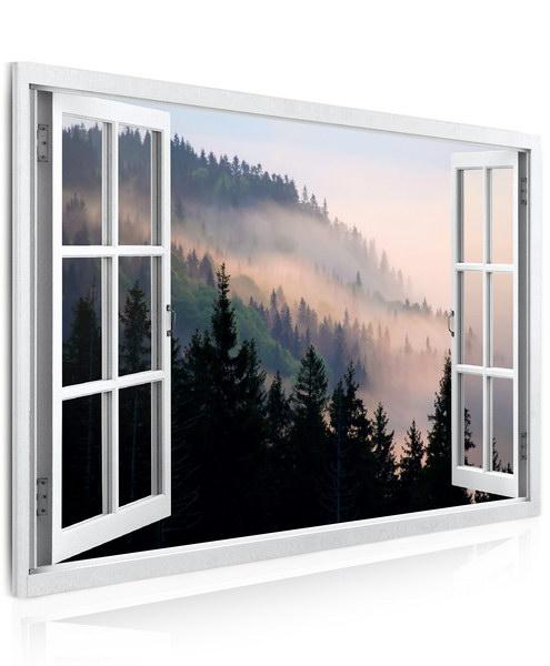 Malvis Obraz Pohled na les v mlze  - zvìtšit obrázek