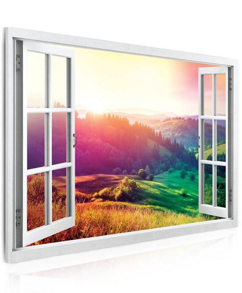Malvis Obraz Výhled do barevné krajiny  - zvìtšit obrázek