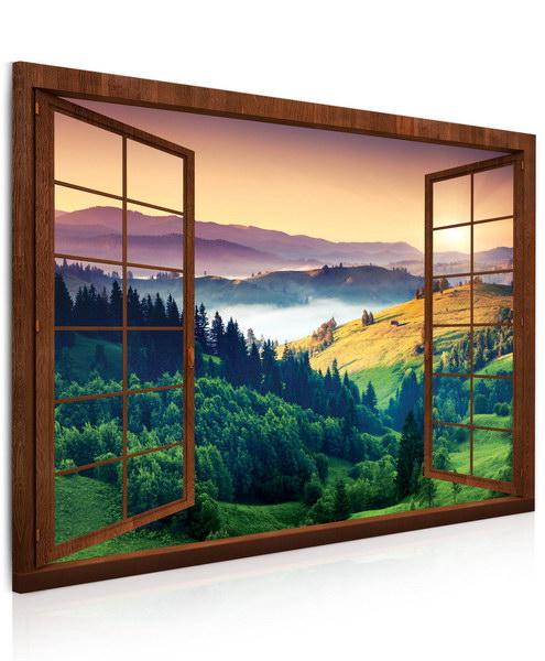 Malvis Obraz Zbarvená krajina  - zvìtšit obrázek