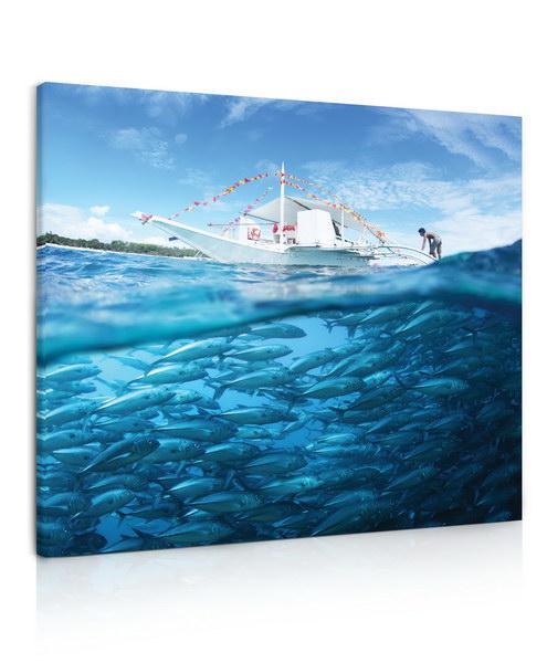 Malvis Obraz Hejno ryb  - zvìtšit obrázek