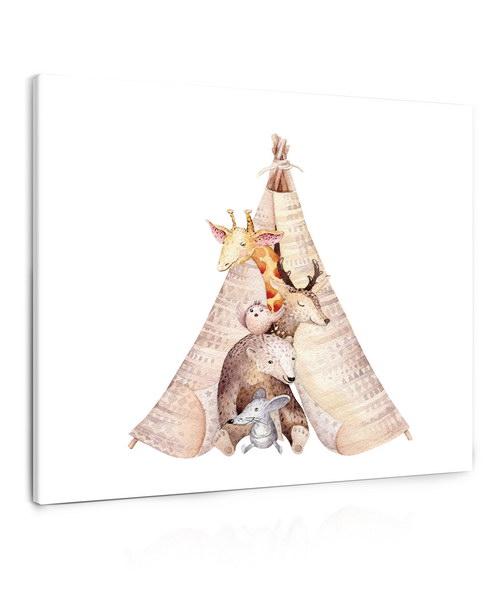 Malvis Obraz malovaná zvíøátka  - zvìtšit obrázek
