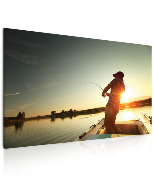 Malvis Obraz rybaøení na jezeru  - zvìtšit obrázek