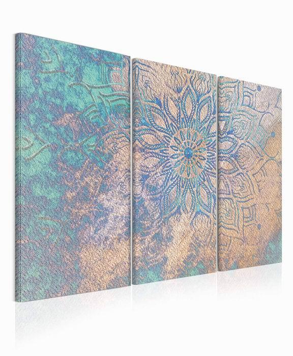 Malvis Obraz Modrozlatá mandala  - zvìtšit obrázek