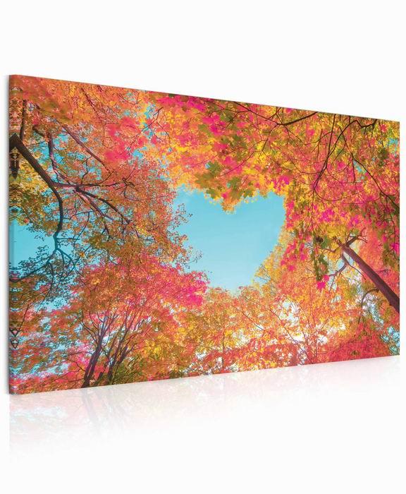 Malvis Obraz Srdce v korunách stromù  - zvìtšit obrázek