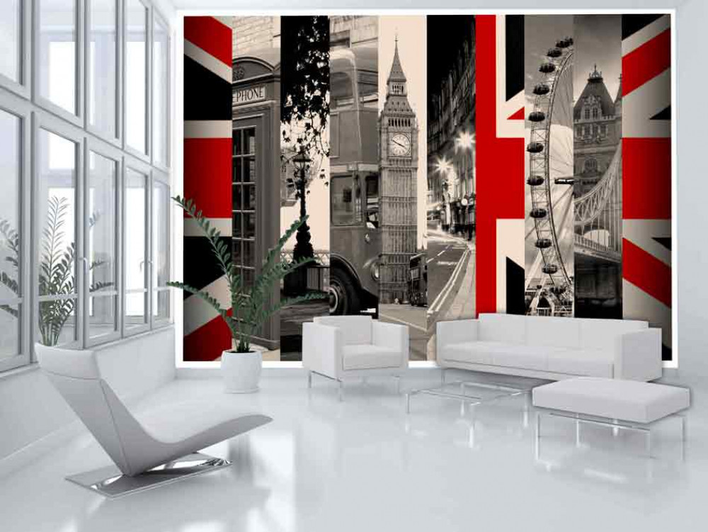 Murando DeLuxe Tapeta symboly Londýna  - zvìtšit obrázek
