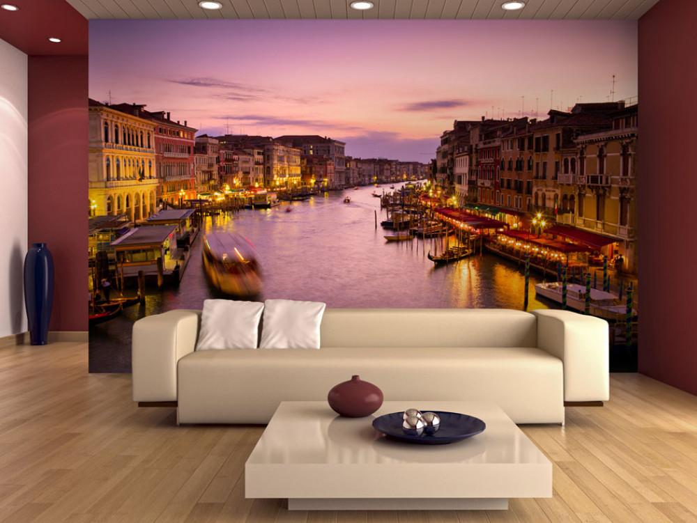 Murando DeLuxe Fototapeta noèní Benátky  - zvìtšit obrázek