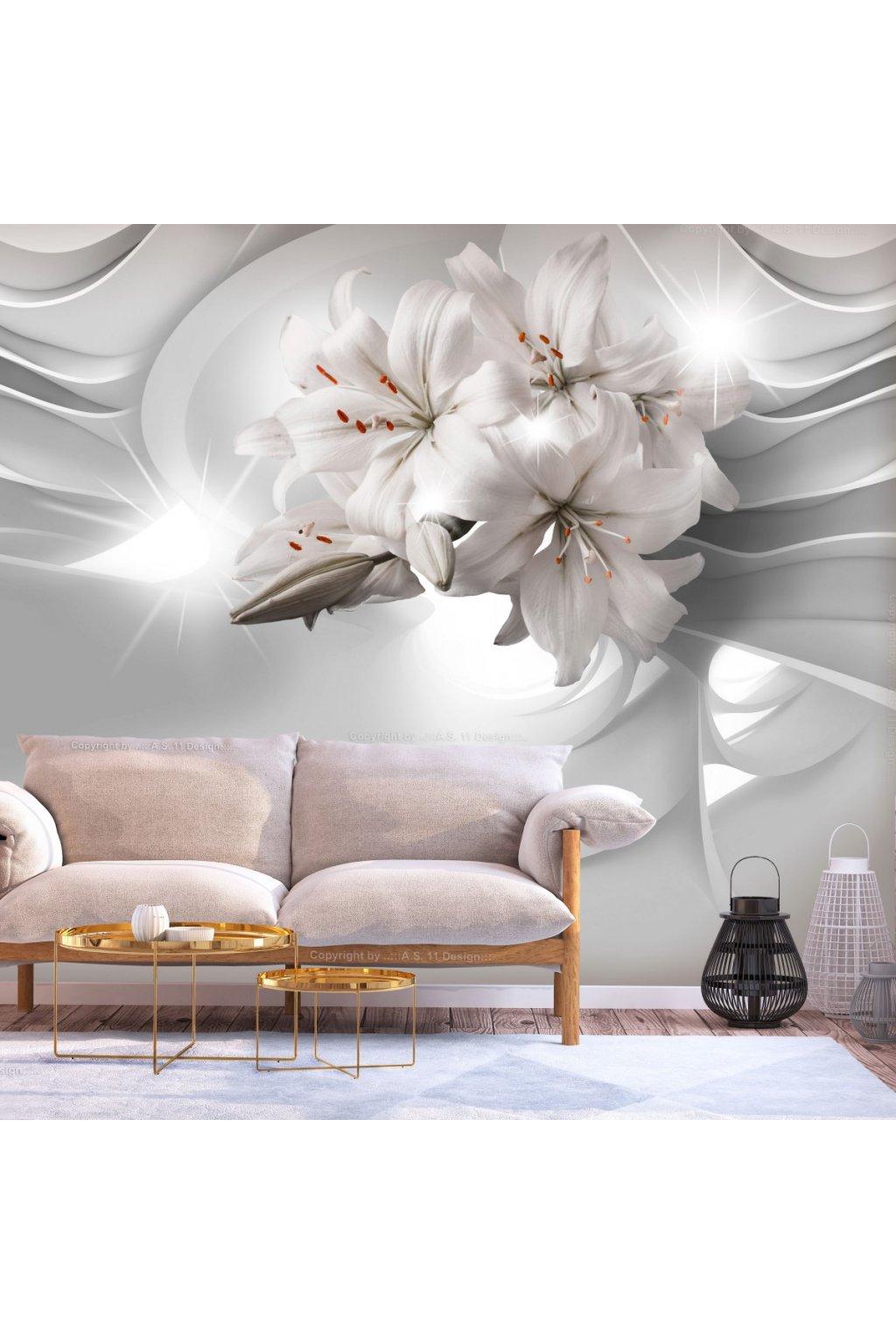 Murando DeLuxe 3D tapeta elegantní lilie  - zvìtšit obrázek