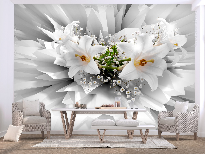Murando DeLuxe 3D tapeta lilie  - zvìtšit obrázek