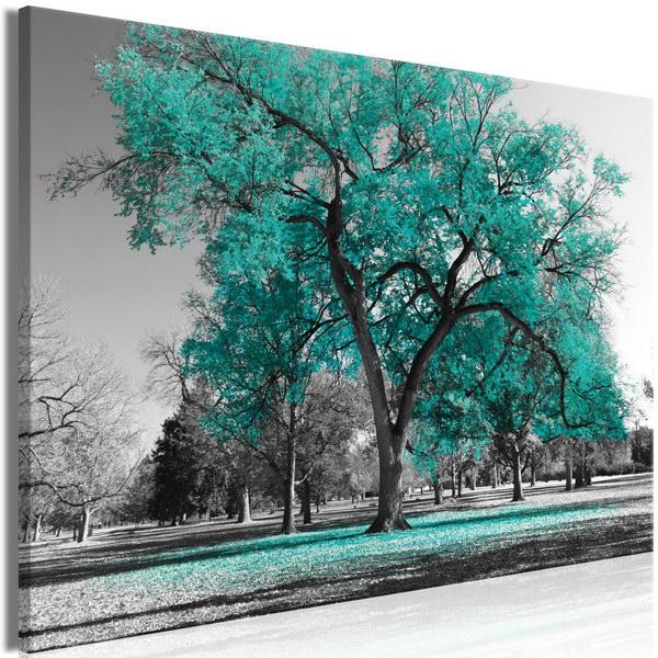 Malvis Obraz podzim v parku - zelený  - zvìtšit obrázek