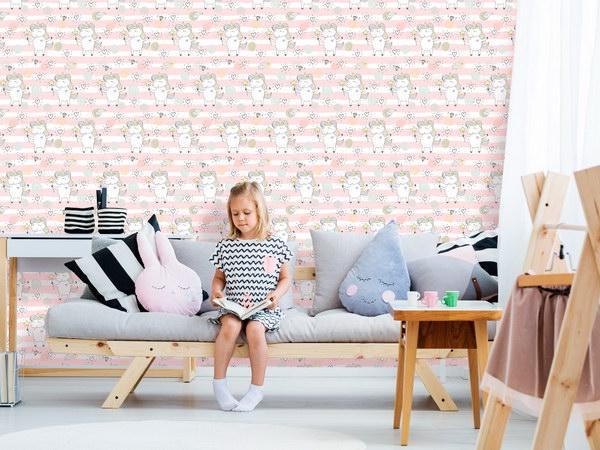 Murando DeLuxe Jednorožec Klasické tapety  49x1000 cm - samolepicí - zvìtšit obrázek
