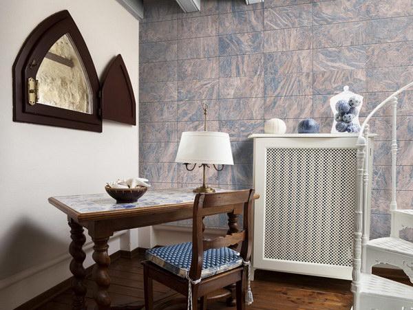Murando DeLuxe Vyleštìná rula Klasické tapety  49x1000 cm - samolepicí - zvìtšit obrázek