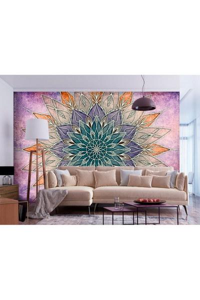 Murando DeLuxe Tapeta jemná barevná mandala  - zvìtšit obrázek