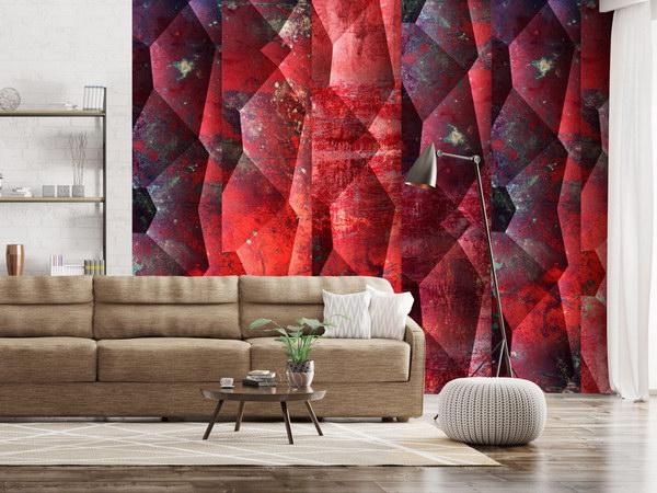 Murando DeLuxe Purpurový reliéf Klasické tapety  49x1000 cm - samolepicí - zvìtšit obrázek
