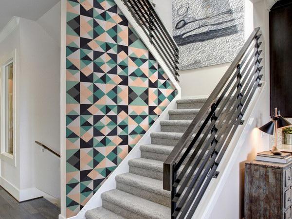 Murando DeLuxe Africká geometrie Klasické tapety  49x1000 cm - samolepicí - zvìtšit obrázek