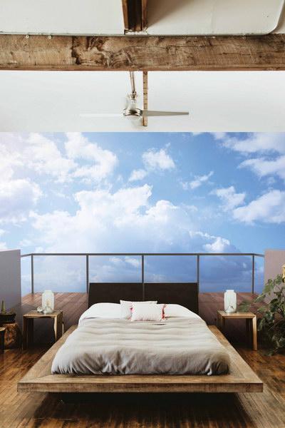 Malvis 3D tapeta výhled na mraky Vel. (šíøka x výška)  144 x 105 cm - zvìtšit obrázek
