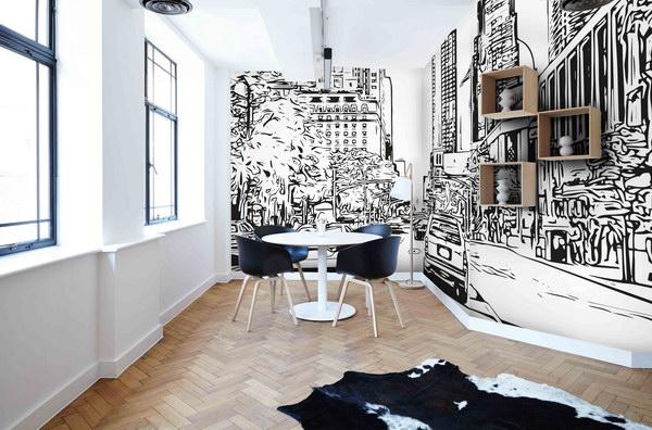 Malvis Tapeta skica New York City Vel. (šíøka x výška)  144 x 105 cm - zvìtšit obrázek