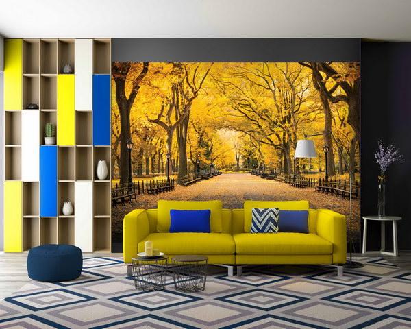 Malvis Tapeta podzimní park Vel. (šíøka x výška)  144 x 105 cm - zvìtšit obrázek