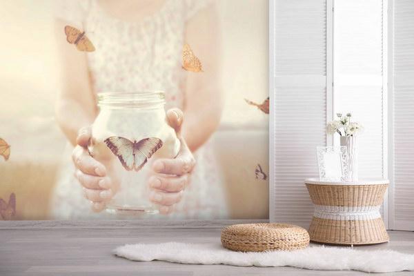 Malvis Tapeta Motýl v lahvi Vel. (šíøka x výška)  144 x 105 cm - zvìtšit obrázek