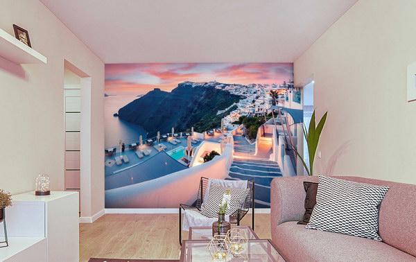 Malvis Tapeta Santorini veèer Vel. (šíøka x výška)  144 x 105 cm - zvìtšit obrázek